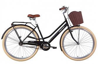 """Велосипед 28"""" DOROZHNIK COMFORT FEMALE 2021 (черный 19,5"""")"""
