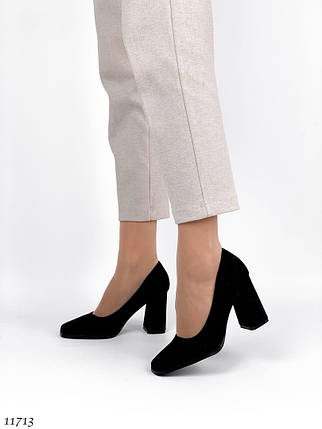 Туфли лодочки замшевые, фото 2