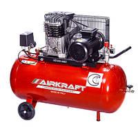Компресор 100 л, 360л/хв, 220В, 2,2 кВт AIRKRAFT AK100-360M-220-ITALY