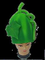 Карнавальна шапочка Огірок з поролону