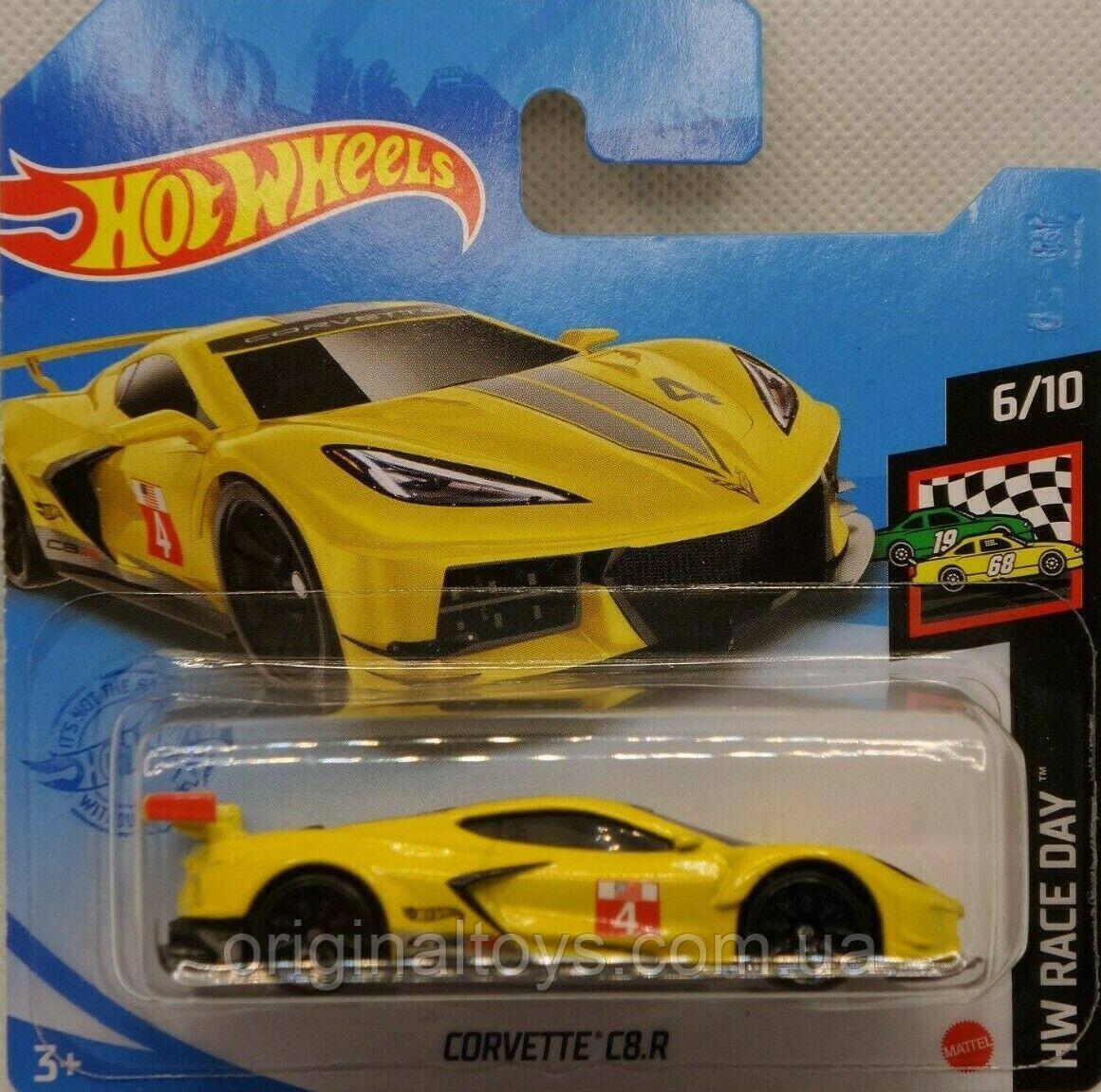 Базова машинка Hot Wheels Corvette C8/R