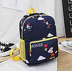 Дитячий рюкзак, поліестер (синій), фото 2