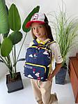 Дитячий рюкзак, поліестер (синій), фото 7