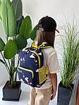 Дитячий рюкзак, поліестер (синій), фото 5