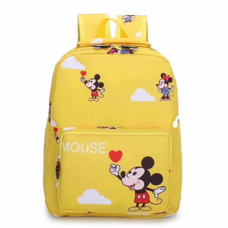 Дитячий рюкзак, поліестер (жовтий)
