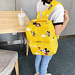 Дитячий рюкзак, поліестер (жовтий), фото 6