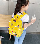 Дитячий рюкзак, поліестер (жовтий), фото 2