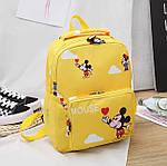 Дитячий рюкзак, поліестер (жовтий), фото 7