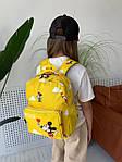 Дитячий рюкзак, поліестер (жовтий), фото 4