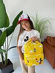 Дитячий рюкзак, поліестер (жовтий), фото 5
