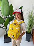 Дитячий рюкзак, поліестер (жовтий), фото 9