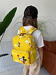 Дитячий рюкзак, поліестер (жовтий), фото 8