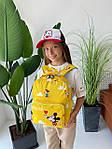 Дитячий рюкзак, поліестер (жовтий), фото 10