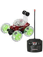 Машинка перевертыш на радиоуправлении с аккумулятором детская игровая машина со светом и звуком