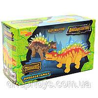 Игрушечный Динозавр Rong Kai, ходит, световые и звуковые эффекты, 35 см (6638-1), фото 2