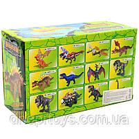 Игрушечный Динозавр Rong Kai, ходит, световые и звуковые эффекты, 35 см (6638-1), фото 3