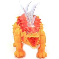 Игрушечный Динозавр Rong Kai, ходит, световые и звуковые эффекты, 35 см (6638-1), фото 5