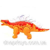 Игрушечный Динозавр Rong Kai, ходит, световые и звуковые эффекты, 35 см (6638-1), фото 6
