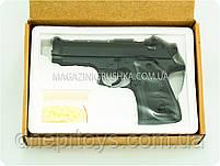 Игрушечный пистолет ZM21 с пульками . Детское оружие с металлическим корпусом с дальностью стельбы 15-20м, фото 4