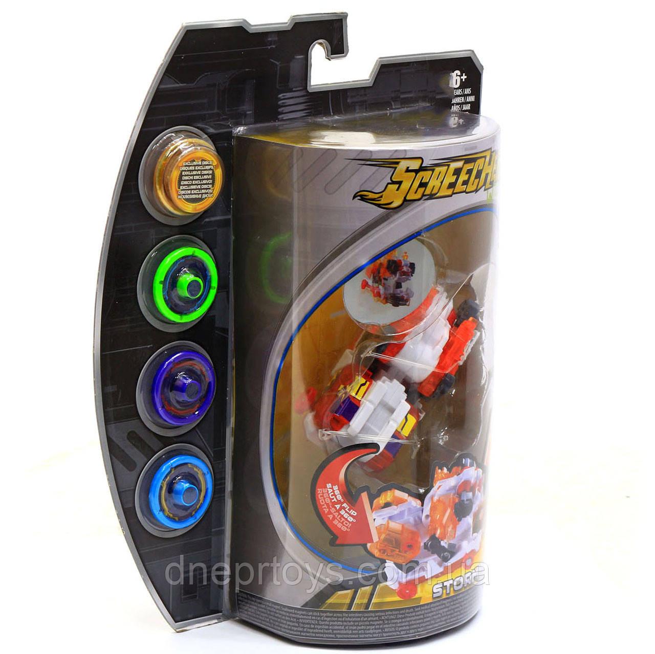 Машинка-трансформер Screechers (Дикі Скричеры) Wild L3 Штормхорн (EU683141)
