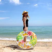 Надувний круг Intex Transparent Tube Осінь 97 см (58263), фото 2