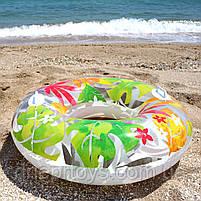 Надувний круг Intex Transparent Tube Осінь 97 см (58263), фото 3