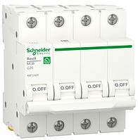 Автоматичний вимикач R9F12425 4P 25A C Resi9 Schneider Electric