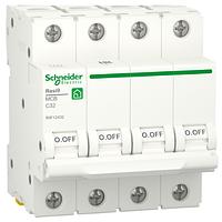 Автоматичний вимикач R9F12432 4P 32A C Resi9 Schneider Electric