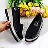 Эластичные черные текстильные полу спортивные женские туфли мокасины 37-23,5 38-24 см, фото 8