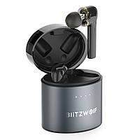 Бездротові Bluetooth навушники BlitzWolf BW-FYE8 з підтримкою APTX (Черный)