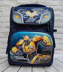 Школьный каркасный ортопедический рюкзак ранец портфель для мальчиков 1 2 3 4 5 класса Трансформеры