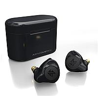Беспроводные Bluetooth наушники KZ S2 с сенсорным управлением (Черный)