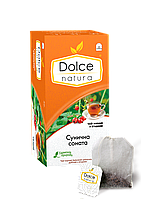 """Чай цейлонський чорний з ягодами """"Сунична соната"""" Dolce Natura 50 м (25шт.*2г)"""