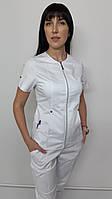 Топ жіночий медичний Мілан-Люкс бавовна короткий рукав