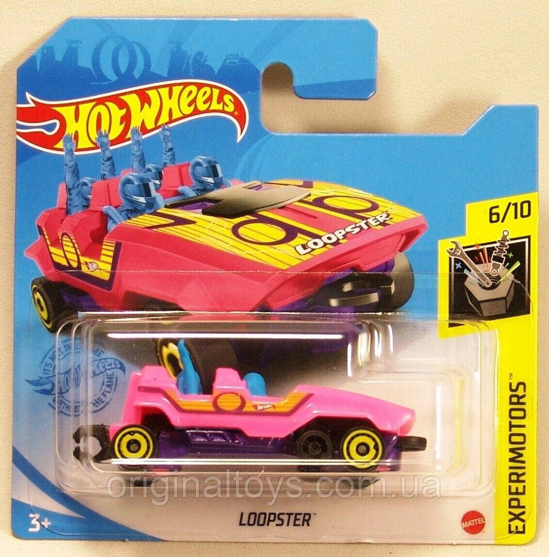 Базовая машинка Hot Wheels Loopster