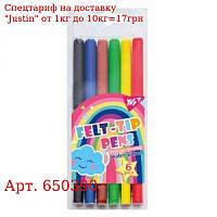 "Фломастеры YES 6 цветов ""Rainbow"""