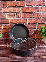 Набір сковорідок з антипригарним покриттям OMS 3257 black