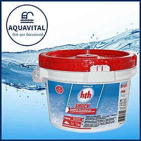 Шок хлор порошок HTH Shock Powder 75–78% не стабилизирован, 5 кг
