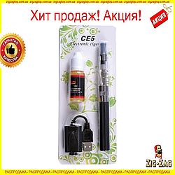 Електронна сигарета EGO CE5 + РІДИНА 10МЛ Вейп 900мач Електронкою Его це5 Чорний/Сірий АКЦІЯ!