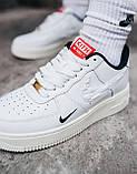 Жіночі білі Кросівки Nike Force Kith x Nike Air Force 1, фото 2