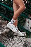 Жіночі білі Кросівки Nike Force Kith x Nike Air Force 1, фото 3