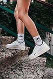Жіночі білі Кросівки Nike Force Kith x Nike Air Force 1, фото 9