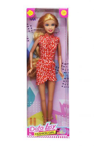 """Кукла """"Defa Lucy"""", в красном 8445"""