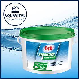 Стабилизатор хлора в гранулах HTH Stabilizer Granules, 3 кг