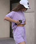 Літній костюм жіночий двійка з шортами, фото 5
