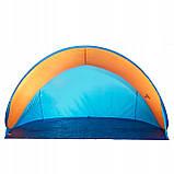Пляжный тент Springos Pop Up 200 x 120 см PT003 Blue/Orange, фото 2