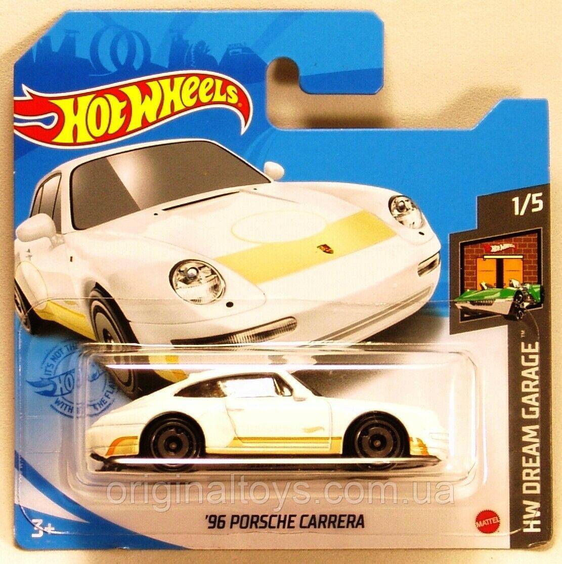Базовая машинка Hot Wheels Porsche Carrera 96