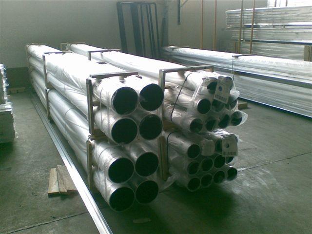 Трубы алюминиевые диаметром от 1.2 мм до 720 мм
