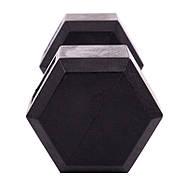 Гантель 1шт 7,5кг  цельная шестигранная SP-Planeta, фото 10
