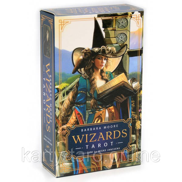Карты Таро Волшебников Барбары Мур (Таро Чародеев) / Wizards Tarot Barbara Moore
